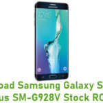 Samsung Galaxy S6 Edge Plus SM-G928V Stock ROM