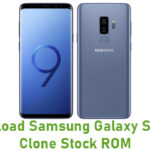 Samsung Galaxy S9 Plus Clone Stock ROM