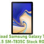Download Samsung Galaxy Tab S4 10.5 SM-T835C Stock ROM