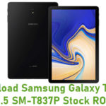 Download Samsung Galaxy Tab S4 10.5 SM-T837P Stock ROM