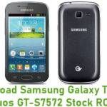 Samsung Galaxy Trend II Duos GT-S7572 Stock ROM