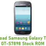 Samsung Galaxy Trend II GT-S7898 Stock ROM