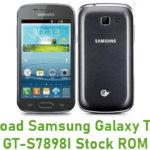 Samsung Galaxy Trend II GT-S7898I Stock ROM
