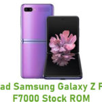 Samsung Galaxy Z Flip SM-F7000 Stock ROM