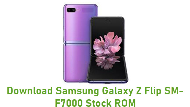 Download Samsung Galaxy Z Flip SM-F7000 Stock ROM
