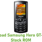 Samsung Hero GT-E2232 Stock ROM