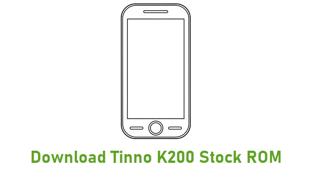 Download Tinno K200 Stock ROM
