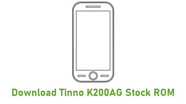 Download Tinno K200AG Stock ROM