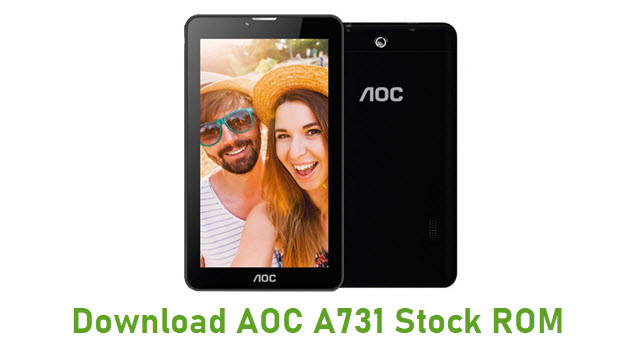 Download AOC A731 Stock ROM