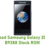 Samsung Galaxy 2013 GT-B9388 Stock ROM