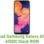 Samsung Galaxy A10e SM-A102N Stock ROM