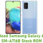 Download Samsung Galaxy A71 5G SM-A716B Stock ROM
