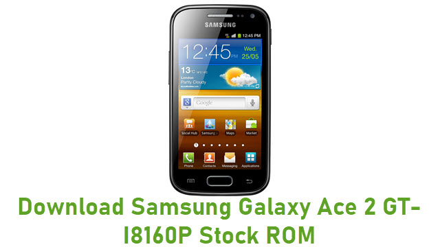 Download Samsung Galaxy Ace 2 GT-I8160P Stock ROM