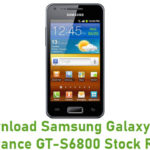 Samsung Galaxy Ace Advance GT-S6800 Stock ROM