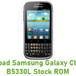 Samsung Galaxy Chat GT-B5330L Stock ROM