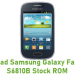 Samsung Galaxy Fame GT-S6810B Stock ROM