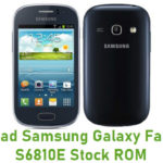 Samsung Galaxy Fame GT-S6810E Stock ROM
