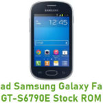 Samsung Galaxy Fame Lite GT-S6790E Stock ROM