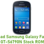 Samsung Galaxy Fame Lite GT-S6790N Stock ROM