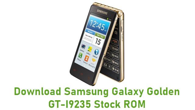 Download Samsung Galaxy Golden GT-I9235 Stock ROM