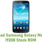 Samsung Galaxy Mega GT-I9208 Stock ROM