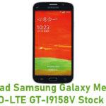 Samsung Galaxy Mega Plus 4G TD-LTE GT-I9158V Stock ROM
