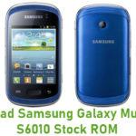 Samsung Galaxy Music GT-S6010 Stock ROM