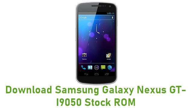 Download Samsung Galaxy Nexus GT-I9050 Stock ROM