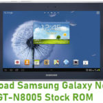 Samsung Galaxy Note 10.1 GT-N8005 Stock ROM