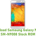 Samsung Galaxy Note 3 SM-N9008 Stock ROM