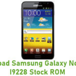 Samsung Galaxy Note GT-I9228 Stock ROM