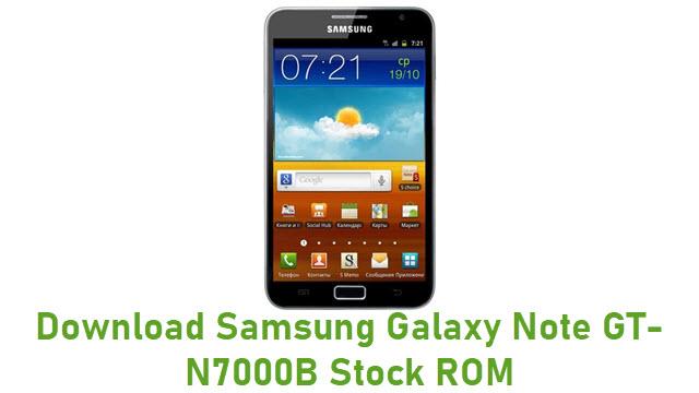 Download Samsung Galaxy Note GT-N7000B Stock ROM
