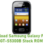 Samsung Galaxy Pocket GT-S5300B Stock ROM