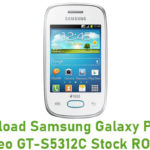 Samsung Galaxy Pocket Neo GT-S5312C Stock ROM