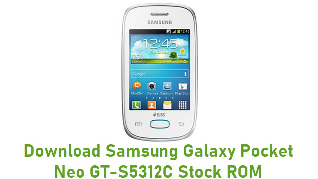 Download Samsung Galaxy Pocket Neo GT-S5312C Stock ROM