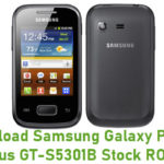 Samsung Galaxy Pocket Plus GT-S5301B Stock ROM