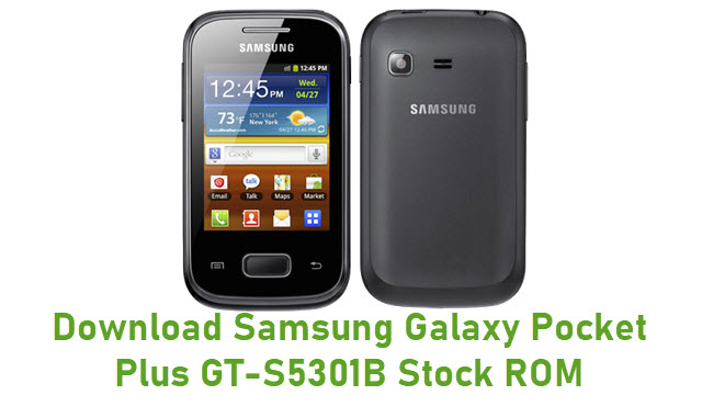 Download Samsung Galaxy Pocket Plus GT-S5301B Stock ROM