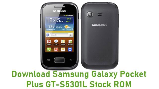 Download Samsung Galaxy Pocket Plus GT-S5301L Stock ROM