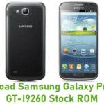 Samsung Galaxy Premier GT-I9260 Stock ROM