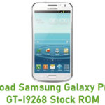 Samsung Galaxy Premier GT-I9268 Stock ROM