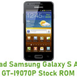 Samsung Galaxy S Advance GT-I9070P Stock ROM