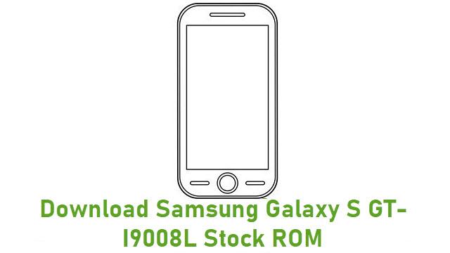 Download Samsung Galaxy S GT-I9008L Stock ROM