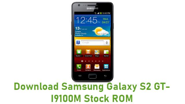 Download Samsung Galaxy S2 GT-I9100M Stock ROM
