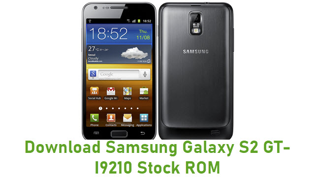 Download Samsung Galaxy S2 GT-I9210 Stock ROM