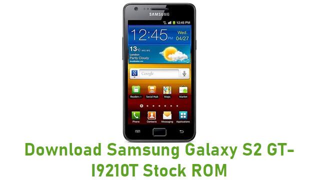 Download Samsung Galaxy S2 GT-I9210T Stock ROM