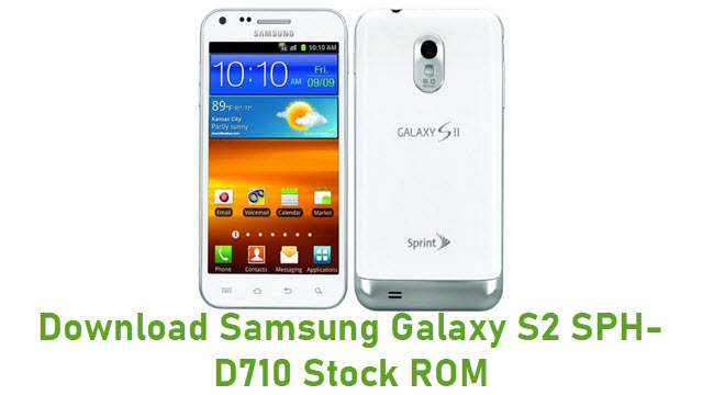 Download Samsung Galaxy S2 SPH-D710 Stock ROM