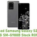 Download Samsung Galaxy S20 Ultra 5G SM-G988B Stock ROM