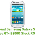 Samsung Galaxy S3 Mini Neo GT-I8200Q Stock ROM