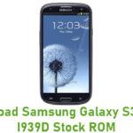 Samsung Galaxy S3 SCH-I939D Stock ROM