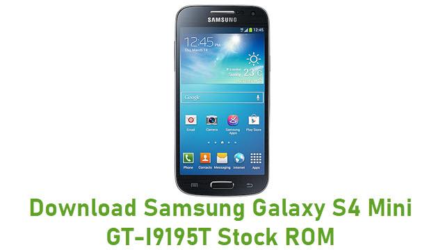 Download Samsung Galaxy S4 Mini GT-I9195T Stock ROM